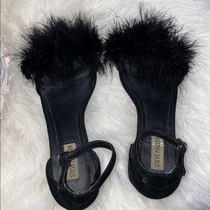Hokus Pokus Shoes Dsw Black Elastic Gladiator Sandals